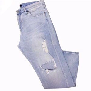 UNIQLO slim boyfriend ankle jeans